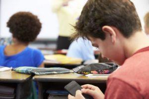 Gli smartphone a scuola