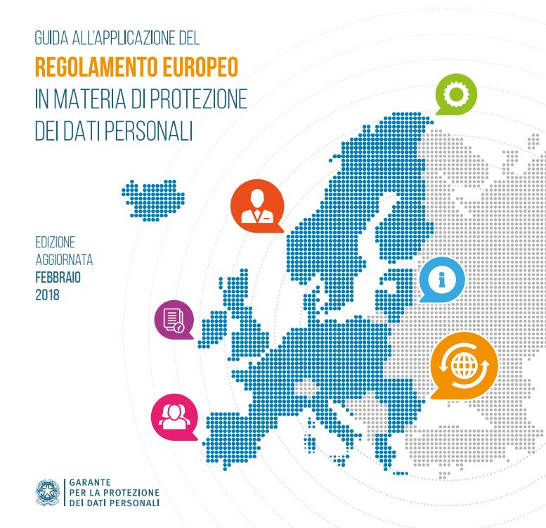 Garante Privacy, vademecum al Regolamento europeo