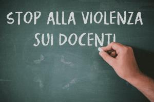 Violenza sui docenti