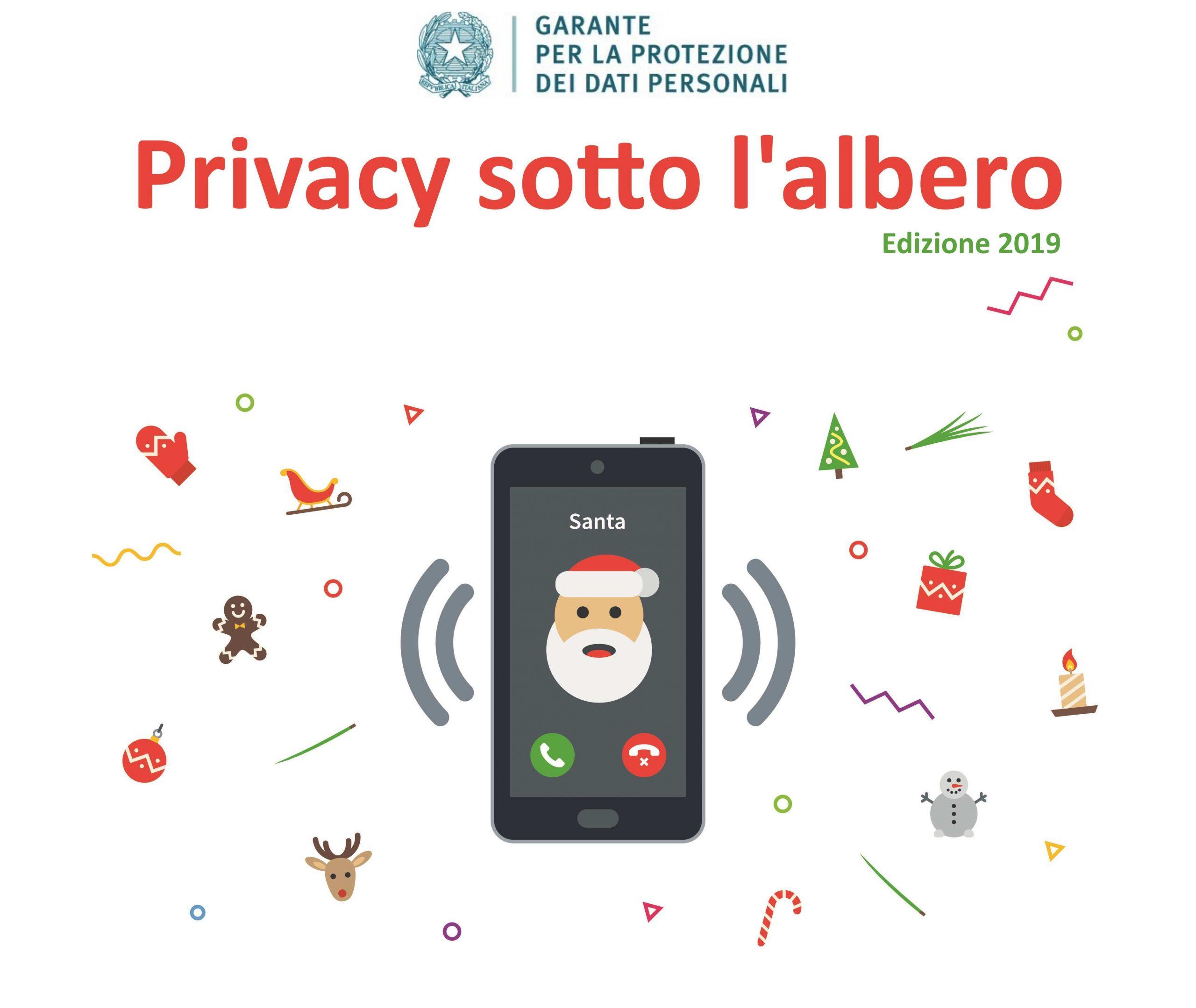 Privacy e festività natalizie