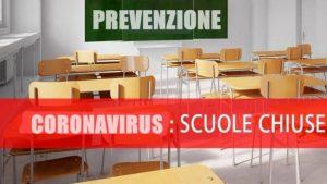 Prolungamento chiusura scuole