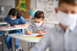 Le mascherine in classe